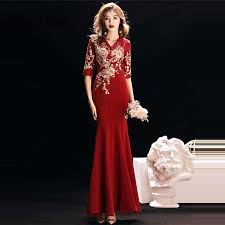 It's YiiYa Evening Dress 2019 Floral <b>Appliques</b> Embroidery <b>Beading</b> ...