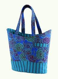 105 best Tote Bag Sewing Patterns images on Pinterest | Purse ... & Free Sewing Pattern and Tutorial - Quilted Tote Bag Adamdwight.com