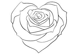 American beauty rose coloring sheet. Roses And Hearts Coloring Pages Best Coloring Pages For Kids Cute Heart Drawings Rose Coloring Pages Heart Drawing