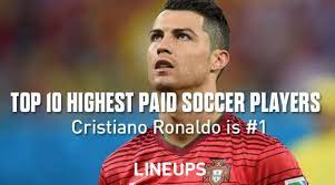 top 10 highest paid soccer players in