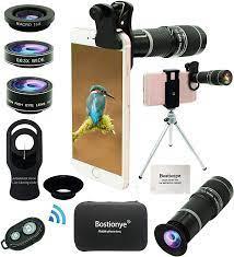Handy Kamera Lens Kit, 5 in 1 Universal 20x Teleobjektiv, 0.63x  Weitwinkelobjektiv, Makro-Objektiv, Fisheye-Objektiv, Augenmaske,  Kompatibel iPhone Samsung Huawei und Die meisten Smartphones: Amazon.de:  Elektronik & Foto