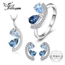 mystic topaz jewelry jewelrypalace 2 8ct genuine sky london blue topaz cer pendant