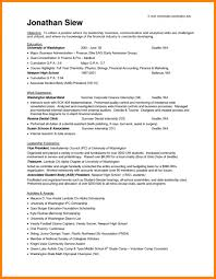 Student Cv Template No Experience Science Resume With No Experience Student Resume No Experience No