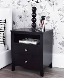 bedroom furniture bedside tables. BROOKLYN Black Bedroom Furniture, Bedside Table, Large Chest Of Drawers \u0026 More | EBay Furniture Tables