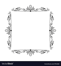 mirror frame outline. Classic Outline Mirror Frame