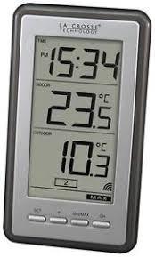indoor outdoor thermometer. wireless digital clock thermometer indoor outdoor t
