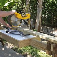 portable chop saw table. portable miter saw stand chop table