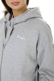 Light Grey Oversized Hoodie Oversized Zip Up Sweatshirt Light Grey Champion