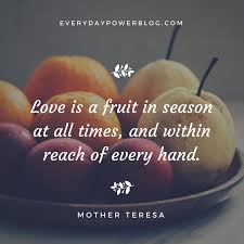 Inspirational Quotes Mothers 83 Inspiration 24 Quotes By Mother Teresa On Kindness Love Charity Everyday Power