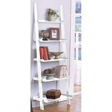 ladder bookshelves | White ladder bookcase ikea
