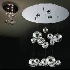 murano due lighting. H40cm Murano Due Bubble Glass Ceiling Light Chrome Lustres Lamps Home Hanging Fixtures 110- Lighting E