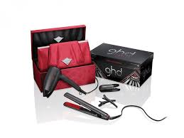 ghd scarlet deluxe limited edition collection hair straighteners gift set