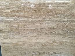 light beige travertine slab tile with polish hone antique cut rough surface for floor covering wall cladding countertop vanity step skirting mosaic