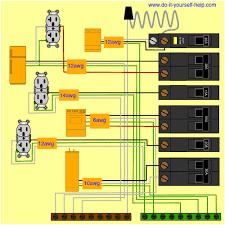 wiring diagram for a circuit breaker box electricidad Wiring Garage Heater To Breaker Box wiring diagram for a circuit breaker box 200 Amp Breaker Box Wiring