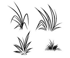 Small Picture How to Draw Grass Coloring Pages Color Luna
