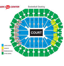 Yum Center Seating Chart Women S Basketball Ncaa Womens Basketball First And Second Rounds Kfc Yum