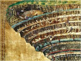 Botticelli Chart Of Hell High Resolution Pin On Z