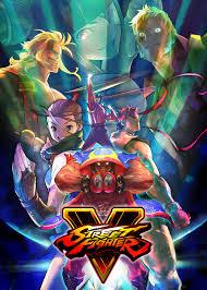 street fighter 5 poster art box art etc