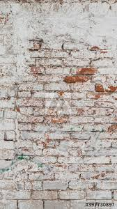 old painted brick wall grunge
