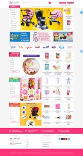 Hato - Mẫu website bánh hàng mẹ và bé đa năng chuẩn SEO