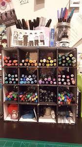 diy pen marker organizer