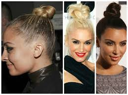 Top Knot Hair Style 5 different bun hairstyle ideas hair world magazine 8430 by wearticles.com