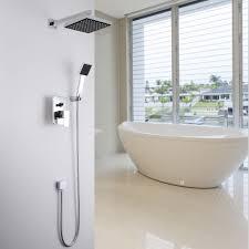 Us 5939 10 Offbrause Set In Wandbrausebatterie 8 Zoll 20 Cm Platz Regendusche Kopf Badewanne Mischbatterie Mit Hand Halten Sprayer In