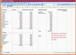 Create Spreadsheet For Bills How To Income And Expenses Maki On ...