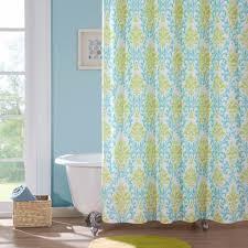 Turquoise Shower Curtain Idea \u2014 The Homy Design