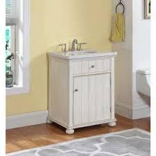 rustic white bathroom vanities.  Rustic D Vanity In Distressed Antique White With In Rustic Bathroom Vanities