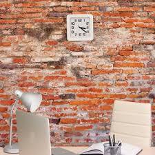 Image Cladding Brick Wall Mural Wayfair Faux Brick Wall Panels Wayfair