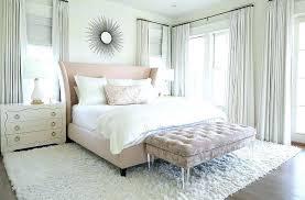 blush pink bedroom decor bed with bench furniture sets room living