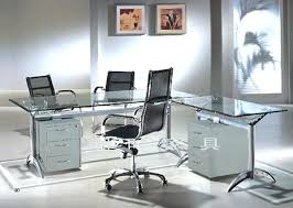 glass top home office desk. Glass Office Desk Table Great Furniture Home Design Ideas Top . S