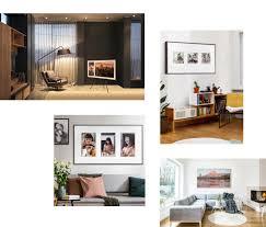 Television Frame Design The Frame Tv Design Samsung Us