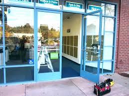 glass entry door repair service front houston lovely exterior ne door glass replacement