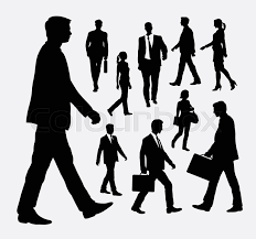 People Walking Vector At Getdrawingscom Free For Personal Use