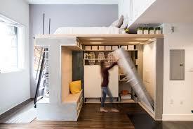 Small Loft Design Pre Fabricated Custom Designed Small Loft In San Francisco