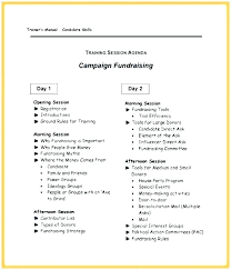 Fundraising Plan Template Fundraising Campaign Plan Template