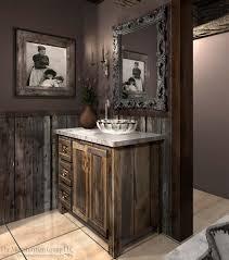 Barnwood Bathroom 111413 Diamond Mine Bath Redesign Barn Wood Reclaimed Wood