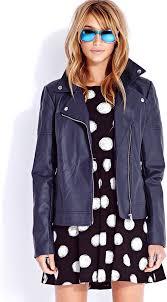 leather jackets forever 21 street chic moto jacket