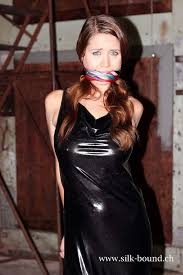Bound Girl Gag Photo