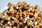 bacon peanut caramel corn