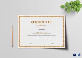 certificate of recognition templates how to make a certificate in microsoft word tutorial free
