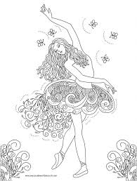 Small Picture Coloring Pages Picture Gallery For Website Ballerina Coloring Book