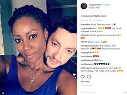 Image result for Yvonne Nelson finally spotted with baby daddy