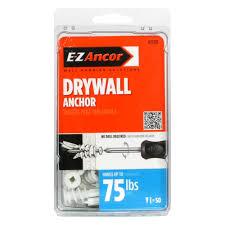 medium duty drywall anchors 50 pack