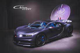 To mark its 110th anniversary, the french automaker bugatti celebrated in singular style, unveiling the most expensive new car in the world — la voiture noire, or the black car — in geneva. Bugatti Celebrates 110th Anniversary With Chiron Sport 110 Ans Bugatti Autocar