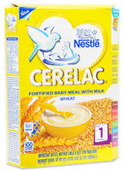 Cerelac Stage 1 Wheat Flavour Nestle