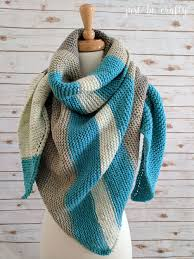 Caron Cakes Patterns Inspiration Pattern Review The Caron Cake Knit Triangular Shawl Just Be Crafty