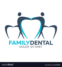 dental logos images family dental logo dental clinic dentist logo vector image